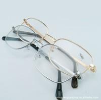 Hot sale promotion wholesaling metal frame reading glasses unisex oversized crystal large frame gold/silver free shipping