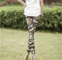 2013 New Fashion Women's Graffiti Leggings Mid Waist Printed Multi-Color Pants Flexible Cotton Blend Trousers For Women  nz25