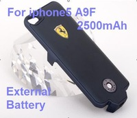 A9F 2500mAh Backup Power Supply Case for i5 External Battery