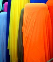 Spandex gauze Latin dance clothes belly dance fashion shirt mesh super soft elastic fabric meters
