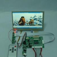 VGA+2AV driver board + 7inch HSD070IDW1 800X480 lcd panel+Touch Screen+Remote