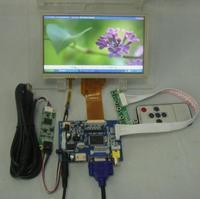 HDMI+VGA+2AV LCD driver board+7inch 800*480 AT070TN92 Lcd +Touch Panel+Remote