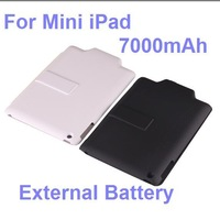 7000mAh External Backup Battery Clip Case Cover Stand Power Bank for i.pad Mini