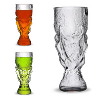 Newest style 'Hercules Cup' glass Beer  Glass Novelty glass Gift for football fans