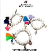 Min.order is $10 Free shipping  2013 Korean Style Brand Bracelet For Women Infinity Charm Bracelet  Fashion Jewelry