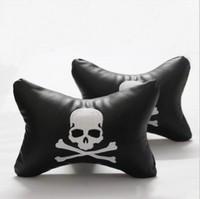 Car headrest mastermind skull headrest neck pillow car care pillow four seasons kaozhen pillow