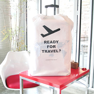 Non-woven luggage dust cover for 24 inch travel trolley dust cover storage bag protective dust cover(China (Mainland))