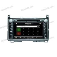 "7"" in-dash Car auto part stereo system DVD Player GPS Navigation for Toyota VENZA+FM/AM RDS+Bluetooth+iPod+games"