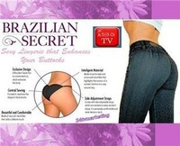 300pcs/lot Brazilian Secret sexy Lingerier Underwear padded envy pants Beautify Buttocks up panties as seen on tv