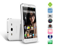 N7300 5.7 Android 4.0 Media Tek MTK6589 Quad Core 1.2GHz 3G Phablet Smartphone Android Phone with GPS  Java Capacitive Touch