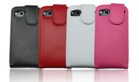 4color,High Quality leather case for HTC S510e G12 Desire S,Doormoon 100%Real cowhide cover,Free shipping