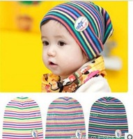 2013 Korean bar sleeve cap cotton knitted cap for children