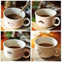 Cup zakka series of coffee cup ceramic mug cup milk cup glass