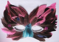 Free shipping wholesale 10pcs/lot Feather mask masquerade masks performance props supplies mask