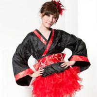 Kimono slim waist clothes dance costume