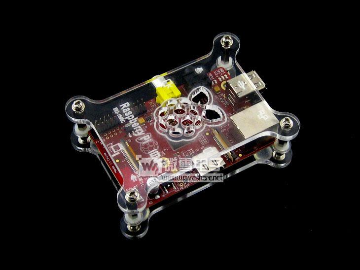 10PCS Raspberry Pi Raspberry Raspberry camp II B second-generation 512 ARM11 development board C - shell(China (Mainland))
