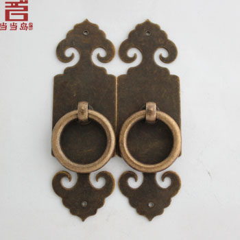 2015 Limited Kitchen Cabinets Drawer Knobs Knobs Chinese Furniture Antique Bronze Copper Door Locks Straight Handle Dg-049 10cm