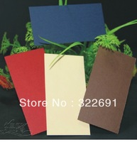 free shipping  Diy blank business card/ multicolour 300g hang tag /classical  bookmark doodle word  cards 10*5cm in stock