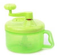 Multifunctional household manual hand-cranked chopper broken pulverizer fruit and vegetable shredder