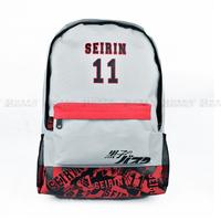 Japan anime Kuroko no Basuke Basketball cosplay #11 casual boy student school bag backpack messager bag