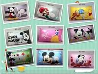 New 2013 Children bedding 100% cotton baby pillow case cartoon mickey minnie mouse,princess print kids pillow cover,2pcs/lot