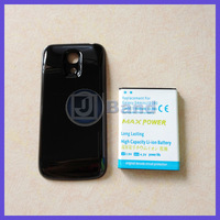 High Quality 3.8V 6000mAh Rechargeable Extended Battery With back Cover Case For Samsung Galaxy S4 Mini i9190 Free shipping
