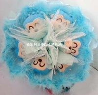 Girlfriend gifts kapo monkey cartoon bouquet doll bouquet christmas birthday gift