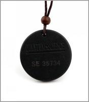 50pcs/lot Energy Quantum Fusion Excel Science Scalar Energy Pendant Necklace With Product Registration Card Quantum Pendant
