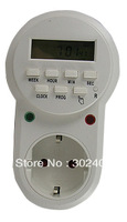 Weekly Digital Programmable Timer Switch Power Saving EU Plug 230V 50Hz  . Free shipping