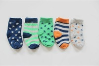 Factory Price Wholesale Sweden Brand Toddlers Causal Cotton Sock Baby Boy Girl Socks 6M-24M 20pcs/lot