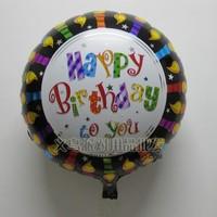 18 circle birthday balloon aluminum blastoff balloon decoration supplies balloons