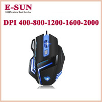 High quality Professional wired electric game mouse tarantula mouse  laser wired mouse Free Shipping