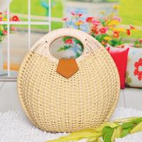 Straw bag 2013 sweet gentlewomen vivi magazine hot-selling portable rattan bag rustic