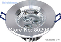 "Cutout 70mm 2.5"" 3W 9W LED down lights Downlamps Downlight Down lamps (D102A-31)"