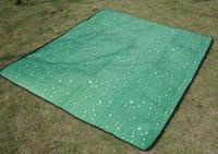 free shipping drop cloth multi-colored picnic rug beach mat moisture-proof pad baby crawling mat KC011