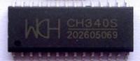 free shipping hesen 10pcs Ch340s usb chip 1 10 big  ic