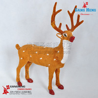 Free shipping Christmas tree supplies bottoms 35 26cm christmas elk car 400g  in stock