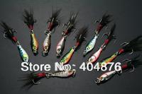 8pcs Lead Fishing Lure MINI LEAD FISHING LURE BASS WALLEYE 6G Fishing Crankbait Lure Lead Jigs (LB003) free shipping