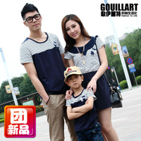 Family fashion short-sleeve summer family set g996 family pack summer family fashion summer 2013
