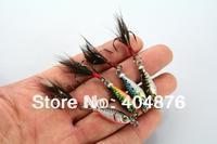 16pcs Lead Fishing Lure MINI LEAD FISHING LURE BASS WALLEYE 6G Fishing Crankbait Lure Lead Jigs (LB003) free shipping