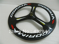 2013 Latest carbon   Corima Tubular / Clincher carbon wheelset with hub and spokes Top quality