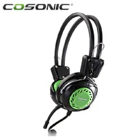 NEW Cosonic jahe ct-712 laptop headset earphones headset wire headset