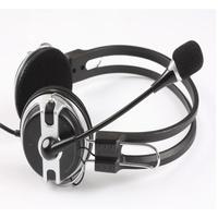 NEW St-418 headset earphones computer earphones belt mike