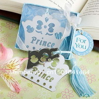 Wedding Favors Blue Crown Themed Princess Bookmark Imperial Crown Bookmarks+10pcs/lot+FREE SHIPPING(RWF-0036U)