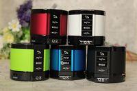wholesale Portable Wireless Mini Bluetooth Stereo Speaker HiFi  Handsfree Mic Player Q8