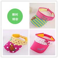 Free shipping children empty top hat sun hat summer baseball cap baby bonnet