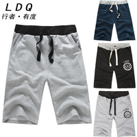 LDQ shipping summer shorts casual pants beach pants Wei Chao big yards pants five pants shorts male