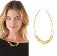 Wholesale Fashion Punk Chain Short Design Short Necklace XL386