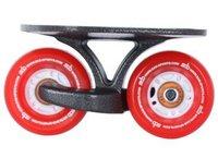 100% Authentic! 1set SAB freeline skate drift skate Red wheel,Club Skateboard drift board,1set =2pcs, Fedex Free