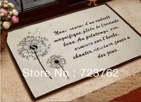 Mats for the bath and a toilet bedside mats decoration mats living room doormat carpet  bathroom mat,40X60cm rugs